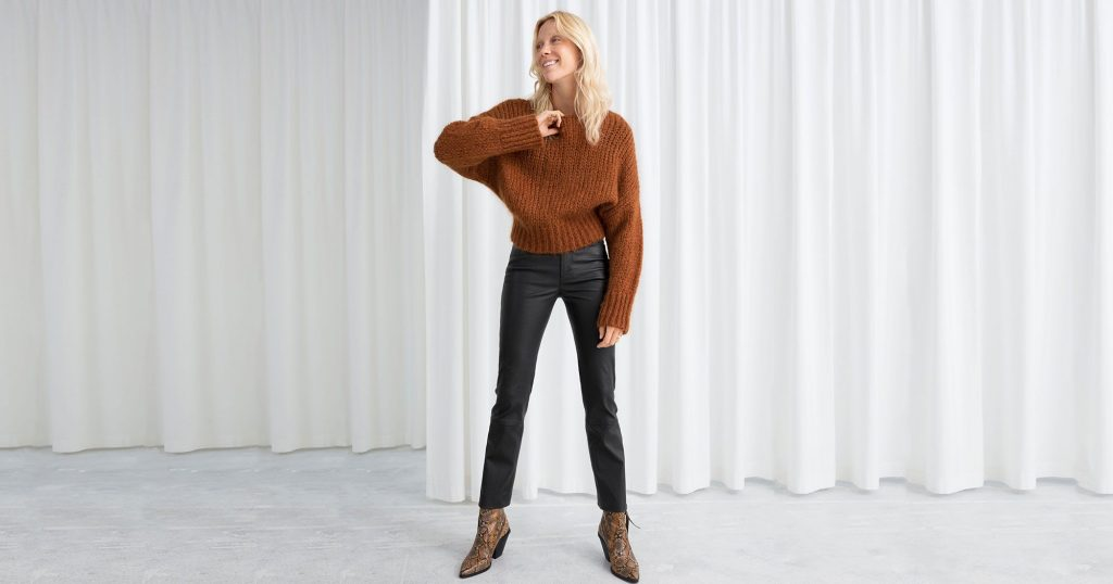 Leather Pants Trend Spring 2019, Vegan & Genuine Option