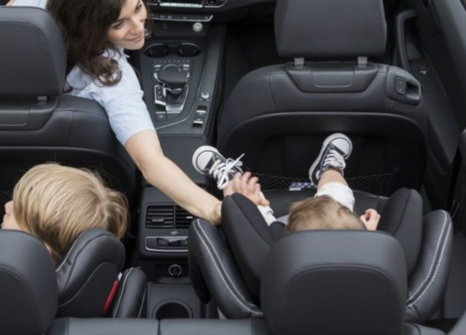 Renting a Car in Santorini with Children Car Seat?